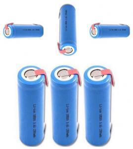 China 1S1P 3.7V 1300mah GPS Battery Pack For Searchlight / Loudspeaker / Led Light on sale