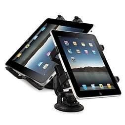 China Multifunctional tablet pc car mount holder / desk clip for ipad 1 ipad 3 notebook on sale