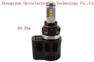p6 led auto verlichting 55w 5020 car led headlight with 10400lm 4000k 5000k 6000k