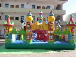 Giant Inflatable Theme Park , Blow Up Fair Land For Residential Park Games