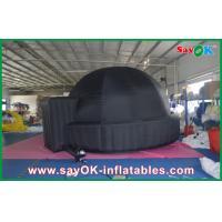 China 2.8m Semi - Circle Portable Planetarium Black Printing For Movie on sale