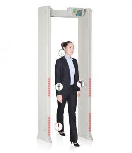 Quality Adjustable Door Frame Metal Detector , Security Check Walk Through Metal for sale
