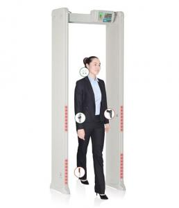 Quality Adjustable Door Frame Metal Detector , Security Check  Walk Through Metal Detector for sale