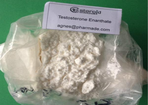 White Crystalline Powder Testosterone Enanthate , Enanthate
