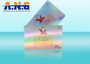China Modifique la programación de la tarjeta inteligente para requisitos particulares del PVC RFID del laser/de las tarjetas de visita del rfid del regalo on sale