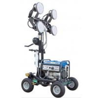400Wx4 LED Lamps Mobile Lighting Tower With Yamaha Generator