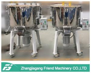 China 380V 50hz Plastic Material MixersPowder Mixing Machine With Castor Wheels on sale