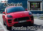 China Porsche Macan Cayenne PCM4.0 gps navigation devices with rear view WiFi BT video android app wholesale