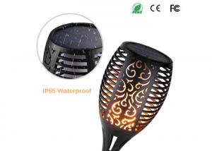 China Flickering Flame Solar Torch Outdoor Solar Spotlights For Landscape Decoration on sale