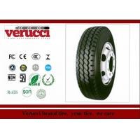 China Black 12.5MM Solid Rubber Tyres , 12 Ply Rating 225/70R19.5 Off Road Truck Tires on sale