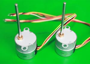 China Light Weight Geared Stepper Motor PM Starting Frequency 420PPS - 720PPS For Rotary Lasers 25BYHJ-S on sale