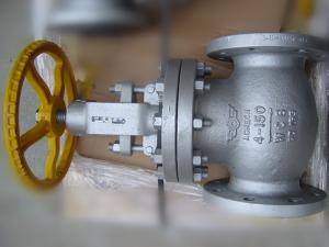 China Screwed ASTM A 217 BS 1873 Globe Valve , Os&Y Globe Valve Class 150# ~ 2500# on sale