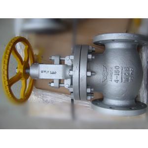 China Screwed ASTM A 217 BS 1873 Globe Valve , Os&Y Globe Valve Class 150# ~ 2500# on sale
