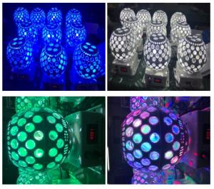 Quality 3x8W Led Crystal Magic Ball Light Special Effects Lighting AC100-240V 50Hz/60Hz for sale