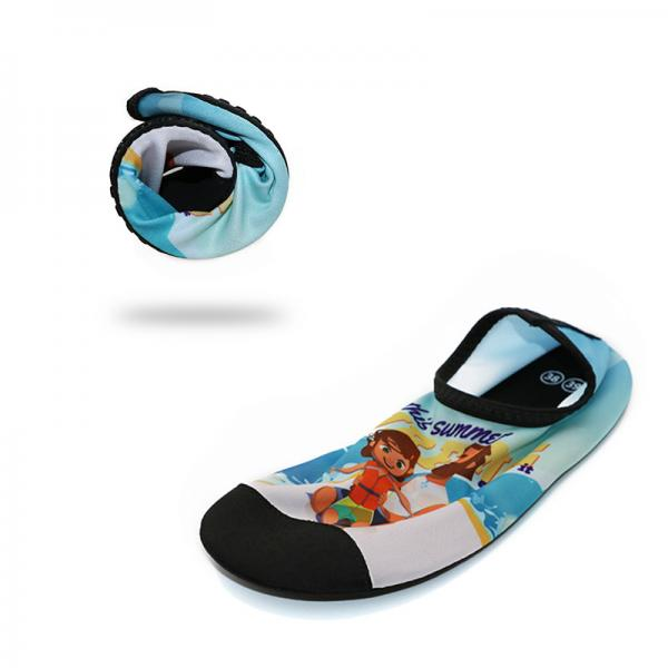 6986598a339b Anti Skid Mens Beach Water Shoes For Aqua Aerobics Lycra Daddy Girl Pattern  Images