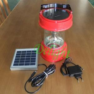 China Outdoor Led Camping Using Solar Rechargeable Lantern (DL-SC15-2) on sale