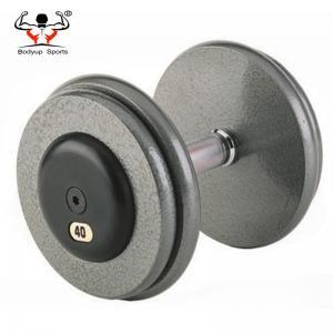 Steel Handle Gym Fitness Dumbbell , Adjustable Dumbbell Set For