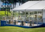 Clear Span Large Frame Tent Light Frame Steel Structure For Soccer Ball Sports
