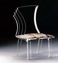 China acrylic transparent chair,cheap acrylic dining chair supplier