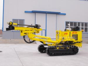 China Hydraulic Crawler DTH Drilling Rig for Building / Road / Civil Engineering JK580 on sale