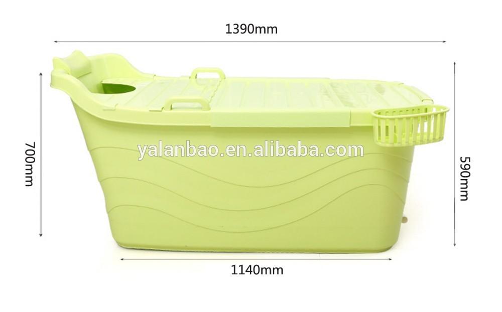 Sgs Test Passed Pp5 Material Plastic Bathroom Bathtub For