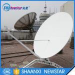 1.8m C or Ku band carbon fiber reflectors manual portable satellite dish antenna