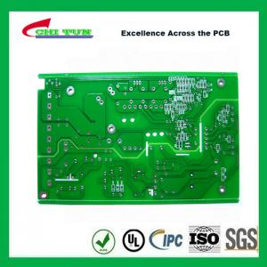 China FR4 1.6MM HASL Single Sided PCB Board Green Solder Mask PCB 1OZ on sale