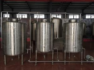 China 0 - 80KW Mobile Cip System , Electric / Steam Heating Clean In Place Equipment on sale