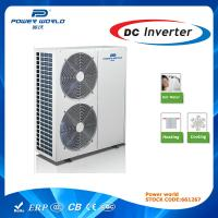 Dc Inverter Residential Heat Pump Air To Water 12.8kw Air Conditioning