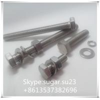 Stainless steel bolts and nuts,DIN standard size bolts, nuts,screws,washers,thread rods