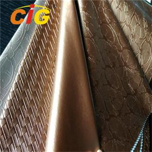 China New product of PVC Leather for Bags Colorful with Much Deffierent Designs on sale