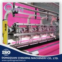 High Speed Automatic Computerized Quilting Machine Two Needle Bar For Shoes Covers