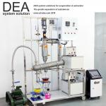 Vacuum Distillation Machine 0. 5 - 50 Mbar Vacuity Feed Amount With Wiped Filming System