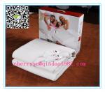 Жара 100% полиэстер 10 устанавливая автоматическое одеяло нагрева электрическим током таймера с утверждением сертификата ГС Рохс ЭМК КБ КЭ