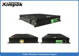 China UGV Fast-moving TDD Transceiver IP Data Radio Wireless IP Transmitter & Receiver on sale