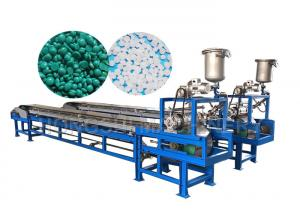 China Cooling Belt Industrial Pellet Machine , Wax Granule Machine 2.2mm Mould Size on sale