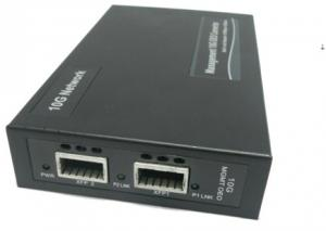 China XFP To  XFP 10G Manageable Media Converter ,  Support Web management on sale