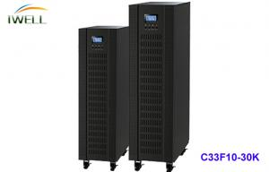 China C33F10K High Frequency Online UPS PF 0.8 Uninterruptible Power Source 10 Kva With Battery on sale