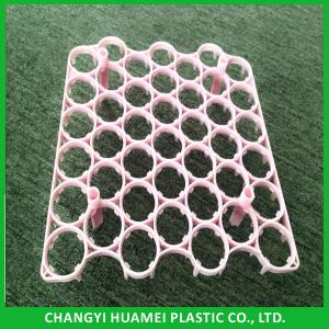 China Different type 42 holes plastic incubator egg tray on sale