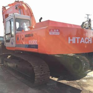 China 1.5m³ Hitachi Long Arm Excavator , 30 Ton Hitachi Used Equipment EX300-1 on sale