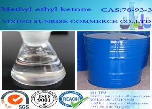 China Transparent Pharmaceutical Intermediates MEK Methyl Ethyl Ketone CAS NO 78-93-3 on sale