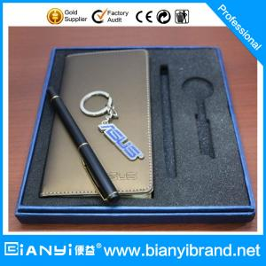 China 2015 fashion pen & keychains business gifts sets factory wholesale on sale