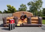 Inflatable Riding Mechanical Bull Rodeo Ride , Inflatable Mechanical Bull Mattress