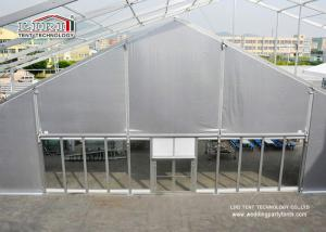 China chama prateada do PVC da barraca do famoso do período TFS de 25m - telhado retardador para os eventos 1000 exteriores da pessoa on sale