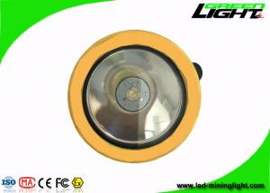 China 4000lux  IP67  water-proof  Yellow and Black  Cordless LED Mining Lights with pc shell on sale
