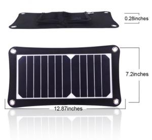China Mini Flexible Solar Power Battery Charger 12V Compacted Novel Size on sale