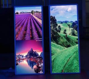 China Indoor HD Mirror Custom Led Display Poster Video Advertising Display Screen P2 P2.5 P3 P6 on sale