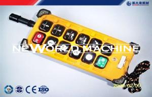 China Industrial remote control F23 - A++ wireless radio remote control for electric hoist crane on sale