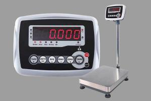 China 12V / 1A Weighing Scale Indicator With LED Display ABS Plastic Housing on sale