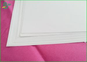 China 100% Virgin Wood Uncoated Printing Paper Excellent Printability For Covers on sale